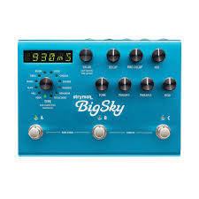 one of strymon s big box pedals the bigsky can tackle just about any form of reverb you can imagine the bigsky was introduced as an updated and expanded