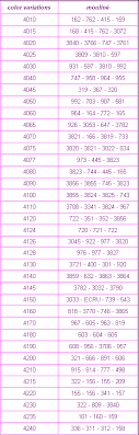 Dmc Color Variations Makeup Of Each Color Cross Stitch