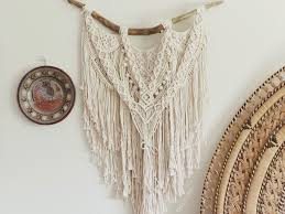 a macrame wall hanging by myra caballero from her instagram account knotwitch posted may 24 2018