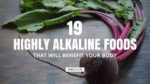 Best Alkaline Food Chart 19 Highly Alkaline Foods That Will Benefit Your Body Yuri