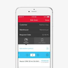 App Sales Inventory Mobile App Ios Unleashed Software