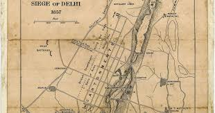 From 1807 To 2021 The Evolution Of Delhi In Six Maps