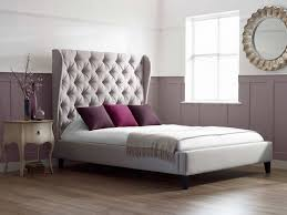 Bedroom: Extraordinary Upholstered Bed For Captivating Bedroom ...