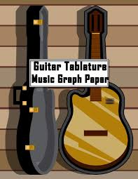 Guitar Tablature Music Graph Paper Compose And Enjoy Your