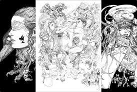 日本と韓国の最強絵師がコラボ 寺田克也キムジョンギによる超絶神