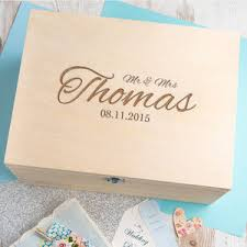 Memory Box Decorating Ideas Wedding Keepsake and Memory Boxes notonthehighstreet 50