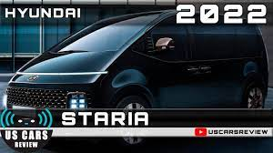 2022 HYUNDAI STARIA Review Release Date Specs Prices - YouTube