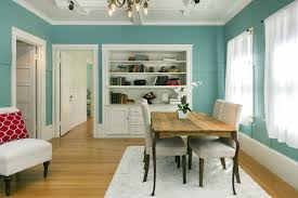 decorating dining room. Have Fun With Different Furniture Styles To Give Your Dining Room A Personalized Look. Add Bold Color The Room\u2014like This Gorgeous Turquoise Blue\u2014to Decorating