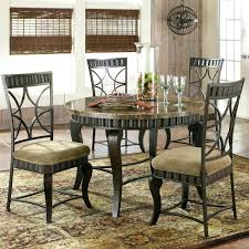 round marble kitchen table and chairs silver 5 piece round faux marble top metal dining table