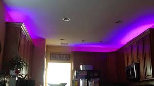 Lights Above Kitchen Cabinets Led Strip Lights Over Kitchen Cabinets Youtube