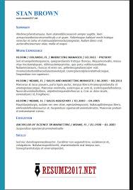 Resumes Templates 2018 Enchanting Cv Template 28 Word Engneeuforicco