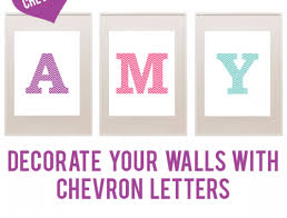 Printable Chevron Letters Free Chevron Printable Letters Decorate Your Walls With