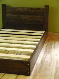 twin platform bed with headboard.  Twin Twin Platform Bed Frame Oak In With Headboard