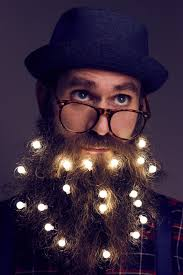 Beard Lights Beard Lights Will Turn Your Beard Into A Christmas Tree