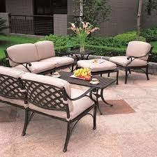 newport estate deep seating patio
