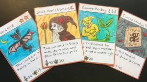 Make Index Cards How To Make Your Own Trading Card Game Using Index Cards