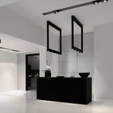 kreon lighting. Hanging Light Fixture / LED Rectangular Aluminum - CADRE Kreon Lighting U