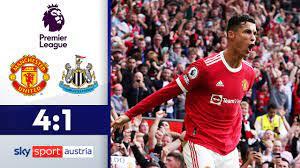 CR7-Doppelpack bei Rückkehr! | Manchester United - Newcastle | Highlights -  Premier League 2021/22 - YouTube