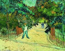how a book made van gogh s reputation art agenda phaidon entrance to the public gardens in arles 1888 by vincent van gogh as