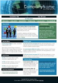 Examples Of Company Newsletters Examples Of Company Newsletter Designs Google Search