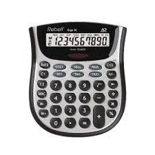 Rebell Ergo 10 Desktop Calculator Re Ergo 10