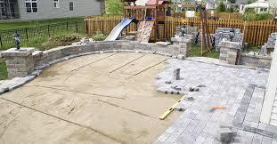 paver installation site concretenetwork com