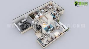 3d residential floor plan services