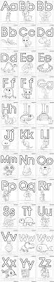 I do not endorse forcing a young child to do an activity if he is not. Printable Alphabet Coloring Pages Letters A J