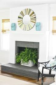 My Summer Home Tour 2014. Empty Fireplace IdeasFireplace ...