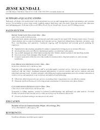 Professional Summary Examples For Resume