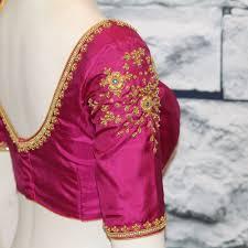 Designer Boutique Women S Hand Embroidery Blouse Stitch Your Dresses Fabloonboutique