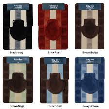 rugs for bathroom amazing rug rust colored bath within designs 17