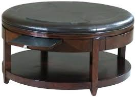 round ottoman coffee table round storage ottoman coffee table coffee table round leather coffee table large