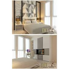interior home furniture. Image May Contain: People Sitting, Bedroom And Indoor Interior Home Furniture