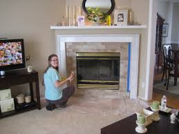 best painting fireplace tile surround home design popular classy simple and painting fireplace tile surround home interior ideas