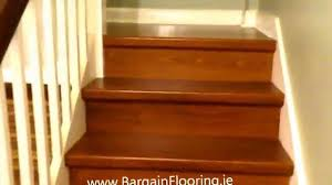 laminate stairs bargainflooring ie how to install laminate flooring on stairs you