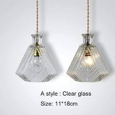 recycled glass bottle pendant lights jar light clear