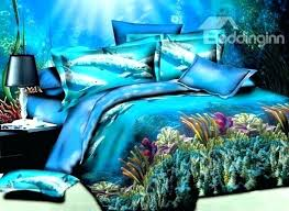 dolphins bed set dolphin bed set dolphin and ocean world printed polyester bedding sets duvet cover