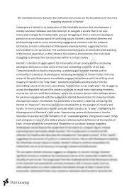 module b hamlet essay year hsc english advanced thinkswap module b hamlet essay