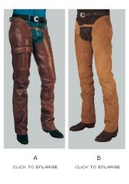 Western Riding Chaps Leather Suede Barnstable Riding Usa