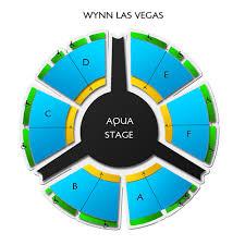 Wynn Le Reve Seating Chart Wynn Seating Chart Wynn Las Vegas Seating Chart