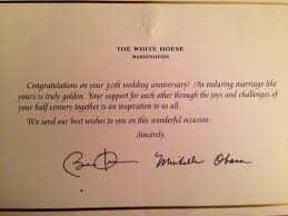 rheasytygermke mail to and first lady obama your governor rh mail wedding card from president invitations to