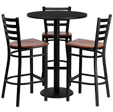 flash furniture 4 piece pub table set
