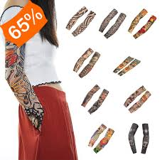 Tetování Rukáv Falešné Tetování Na Ruku 1 Ks 9 Variant