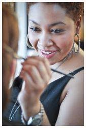 photo of contact page makeup cles in austin san marcos tx