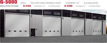 commercial garage doorG5000 G5138 G5200  Commercial Garage Door Manufacturer  Garaga