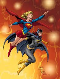 نتیجه تصویری برای supergirl and batgirl
