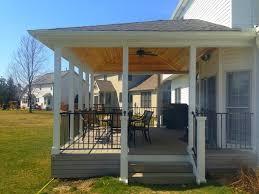 Covered Porch Ideas Cleveland traditional-veranda