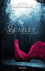 scarlet by marissa meyer the italian cover action packed great characters and beautifully intertwined plot
