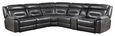 acme imogen power motion sectional sofa